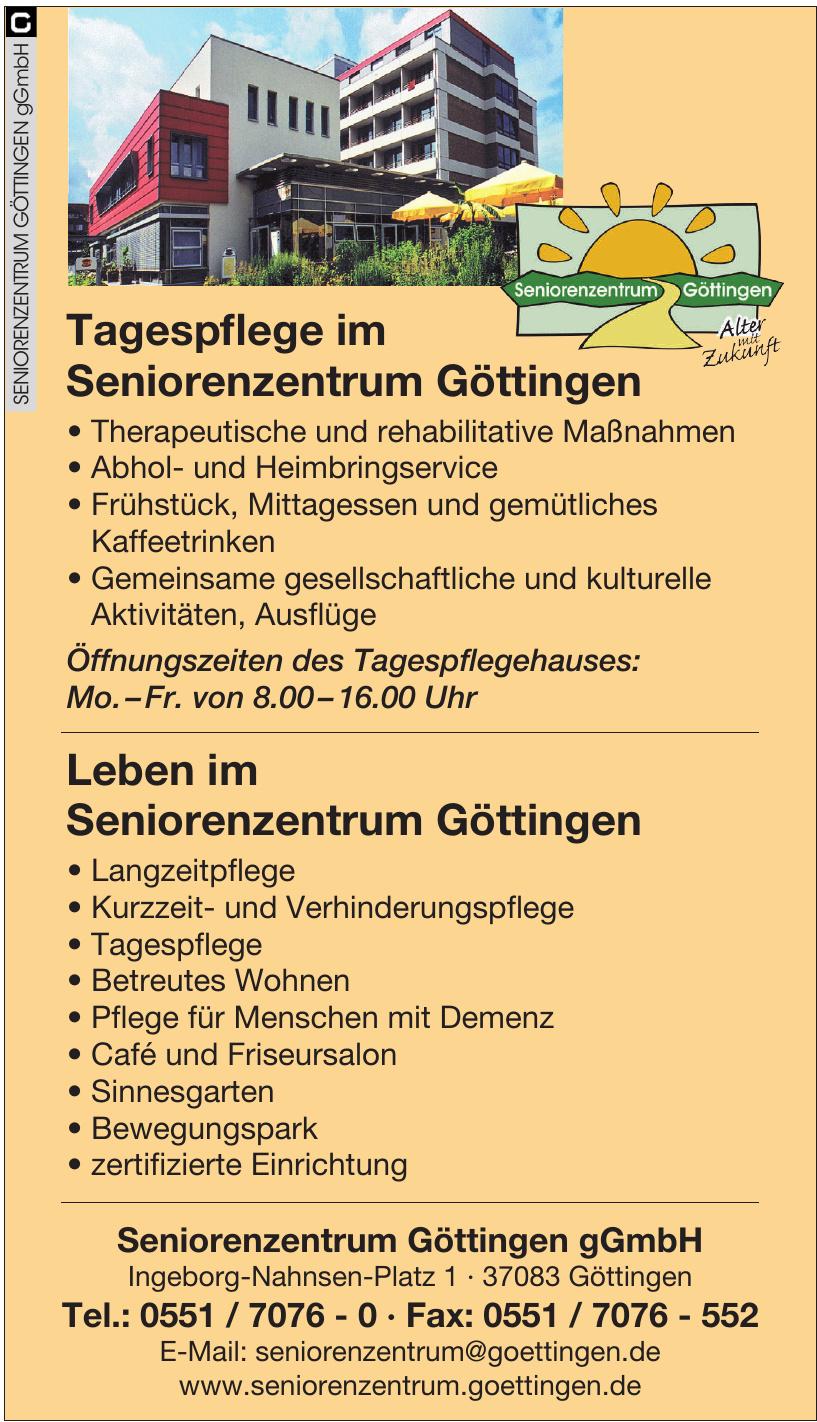Seniorenzentrum Göttingen gGmbH