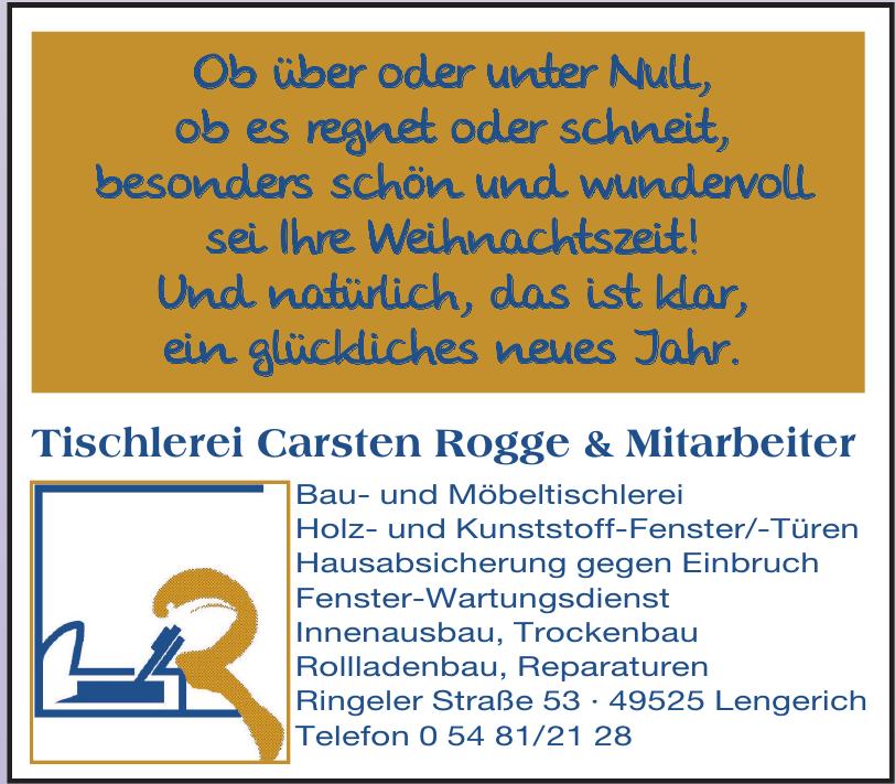Tischlerei Carsten Rogge & Mitarbeiter