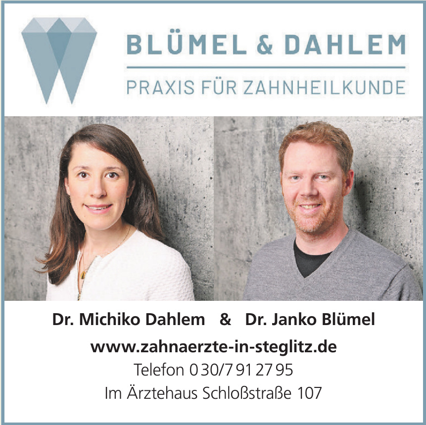 Blümel & Dahlem - Praxis für Zahnheilkunde