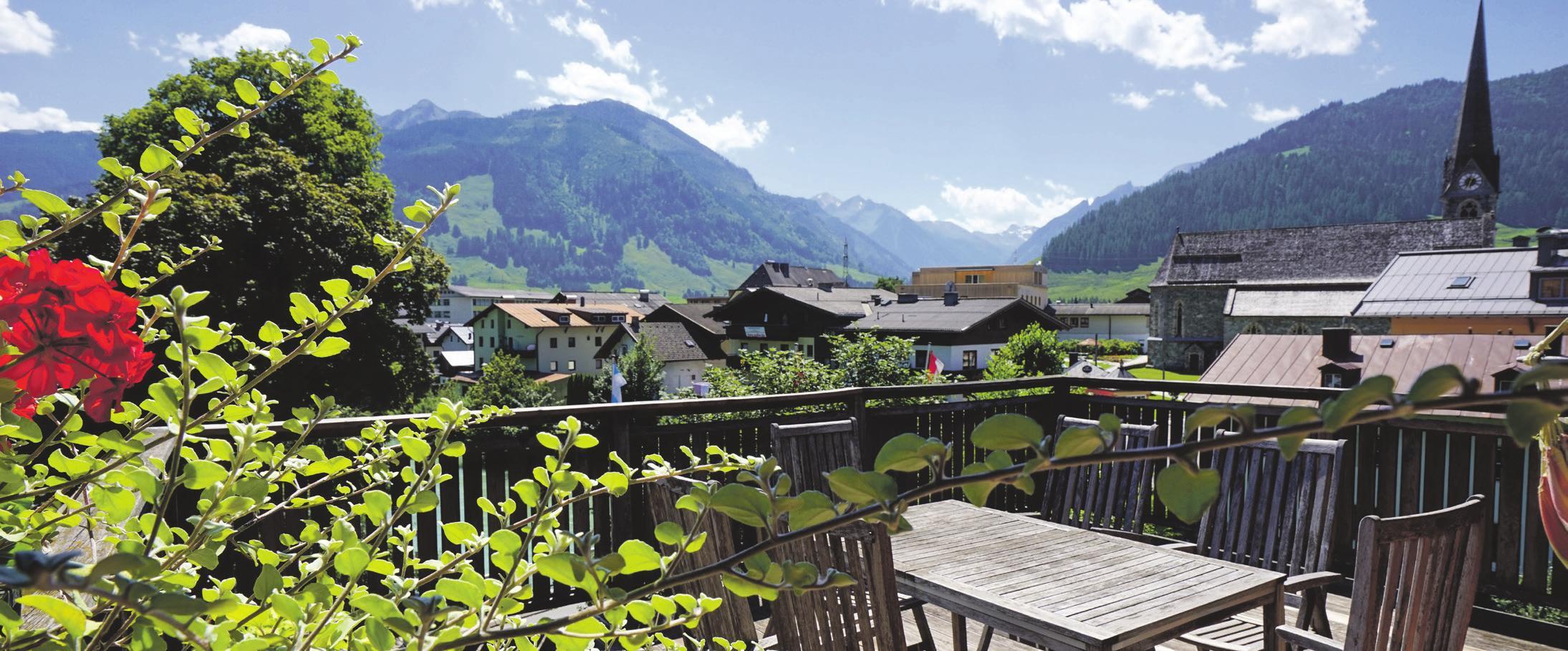 Herrlicher Fernblick. Foto: Hotel LukasMayr