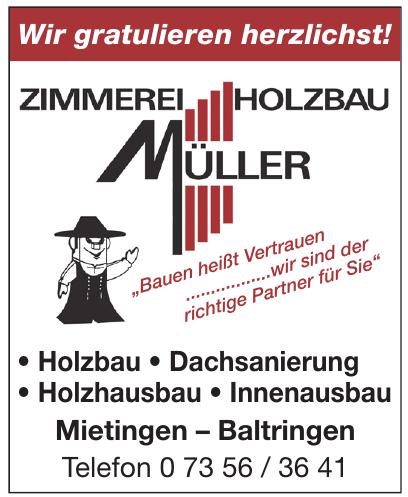 Zimmerei Holzbau Müller