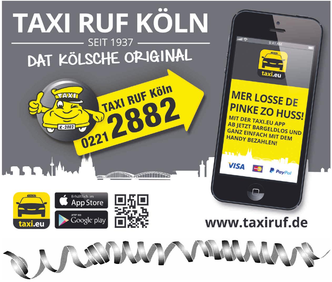 Taxi ruf Köln