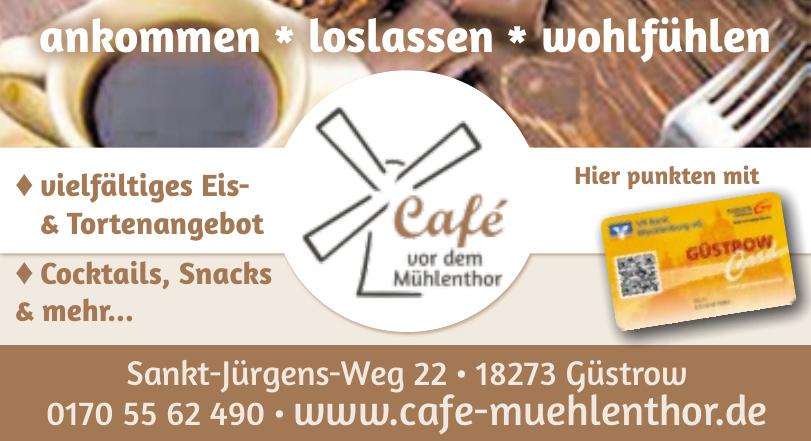 Café Vor dem Mühlenthor