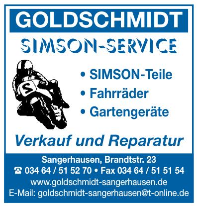 Goldschmidt Sangerhausen