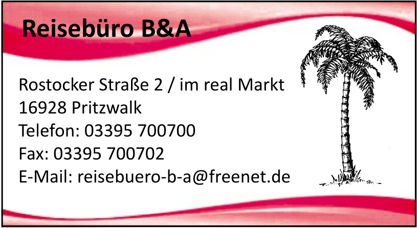 Reisebüro B&A