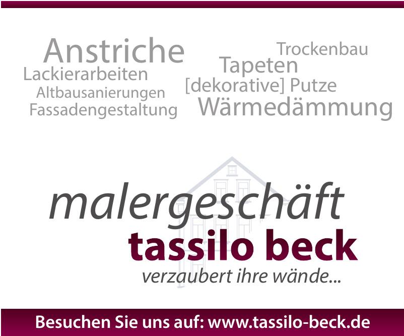 Malergeschäft Tassilo Beck