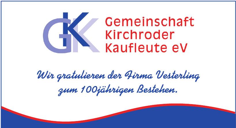 GKK Gemeinschaft Kirchroder Kaufleute eV