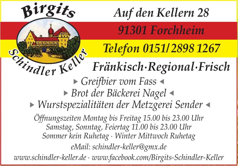 Birgits Schindler Keller