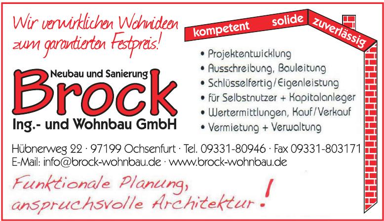 Brock Ingenieur- und Wohnbau GmbH