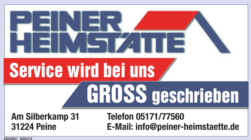 Peiner Heimstätte Wohnungsder Stadt Peine GmbH