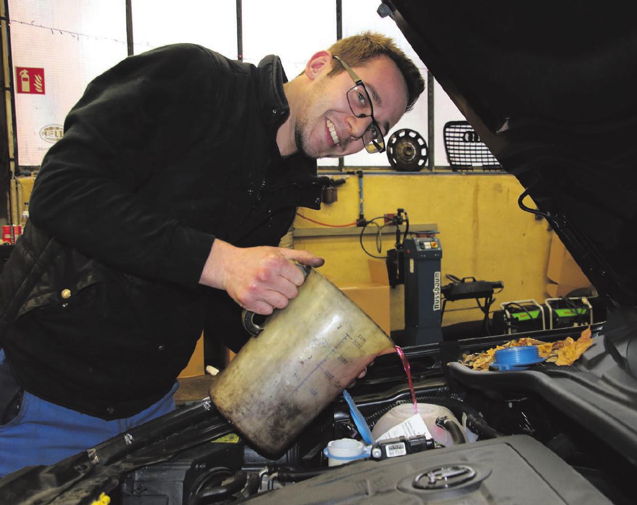 Service für Fahrzeuge der verschiedensten Hersteller.Fotos: Axel Raisch