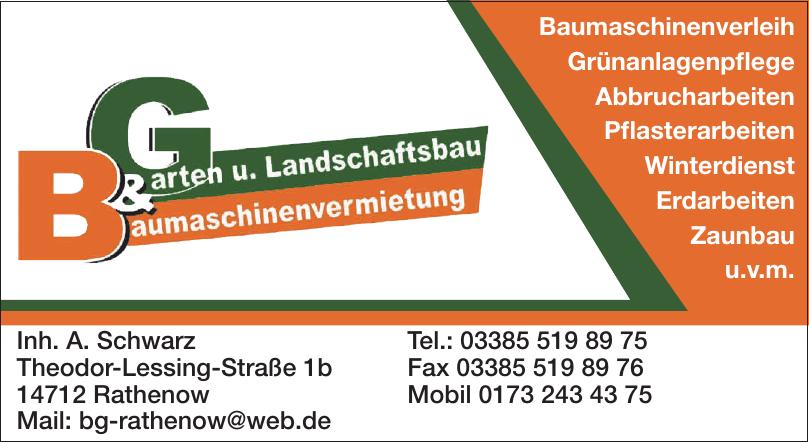 B&G Rathenow - Inh. A. Schwarz