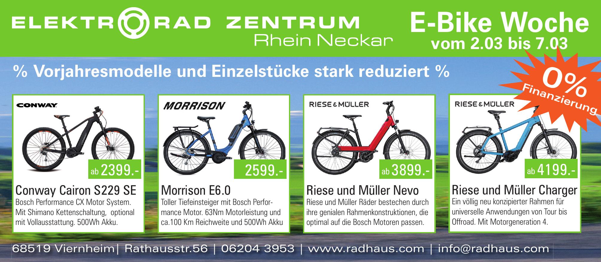 Elektrorad Zentrum Rhein-Nectar