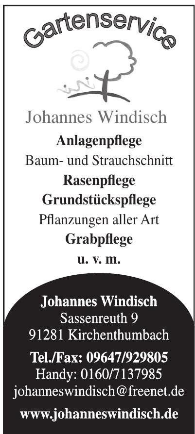 Gartenservice Johannes Windisch