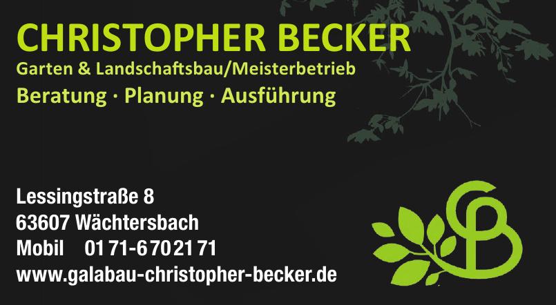 Garten & Landschaftsbau/Meisterbetrieb Christopher Becker