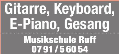 Musikschule Ruff