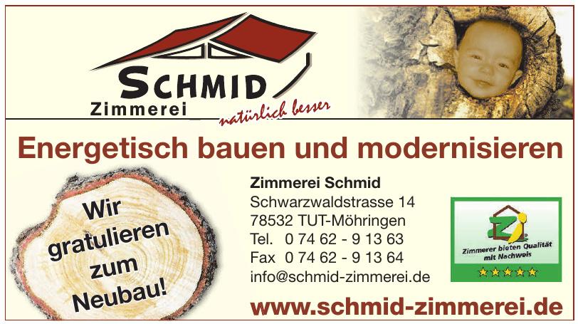 Zimmerei Schmid