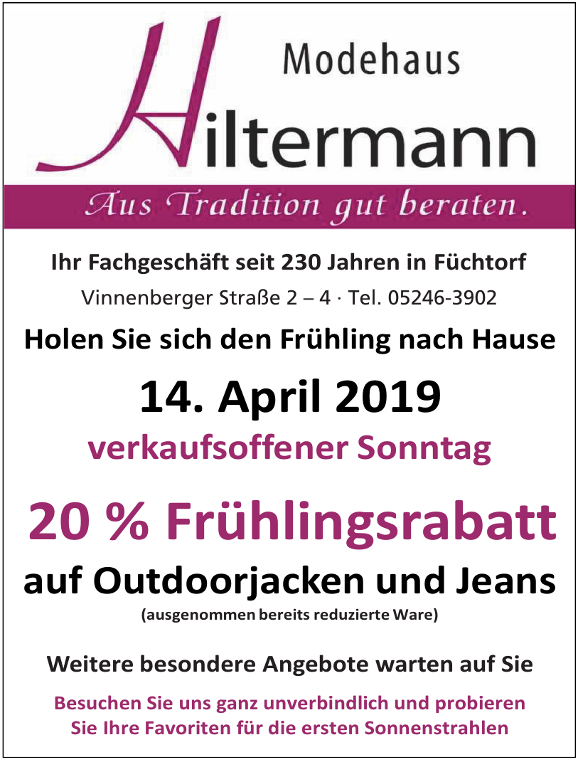Modehaus Hiltermann