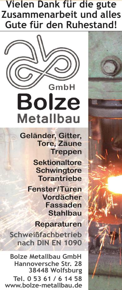 Bolze Metallbau GmbH