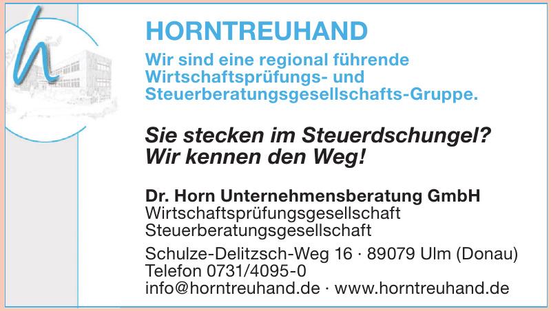 Horntreuhand Dr. Horn Unternehmensberatung GmbH
