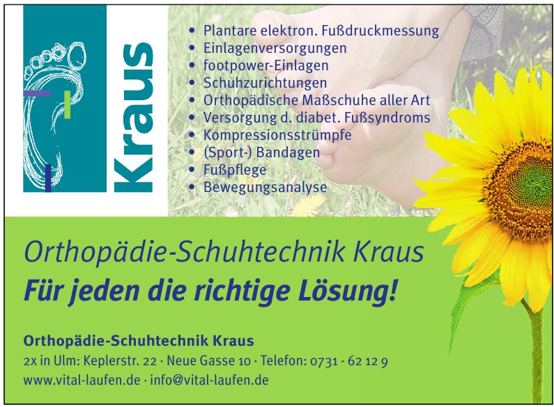 Orthopädie-Schuhtechnik Kraus