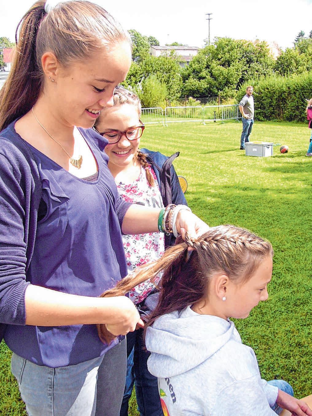 Auch für die kleinen Besucher gibt es wieder verschiedene Aktionen auf der Kinderspielwiese. FOTO: KUHLMANN