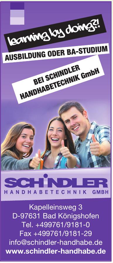 Schindler Handhabetechnik GmbH