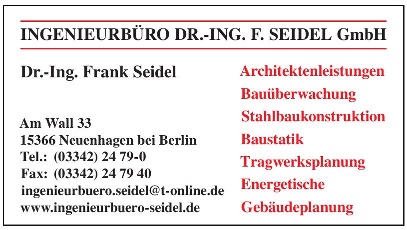 Ingenieurbüro Dr.-Ing. F. Seidel GmbH