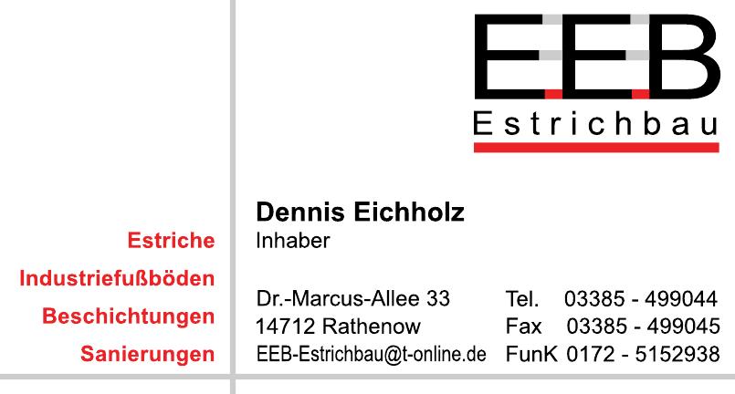 Dennis Eichholz EEB Estrichbau