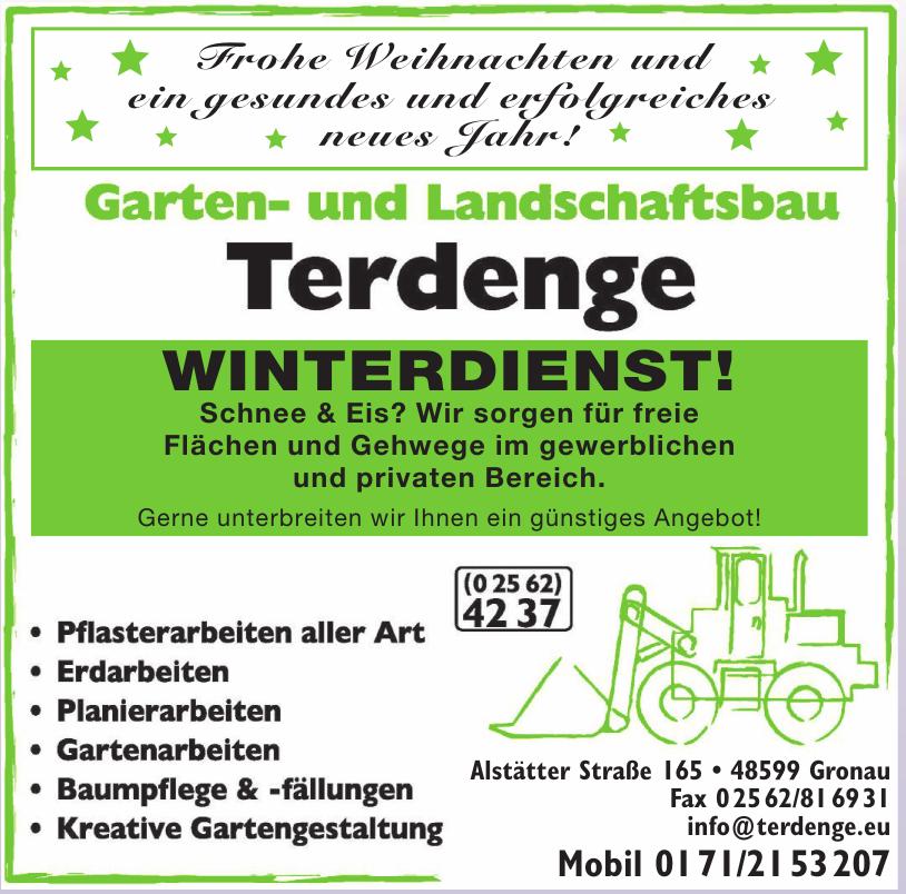 Garten- und Landschaftsbau Terdenge