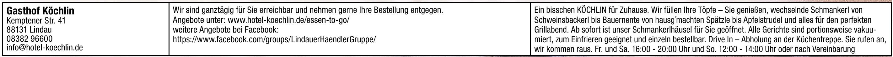 Gasthof Köchlin