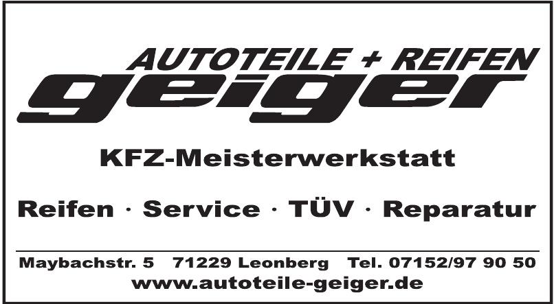 Autoteile-Reifen Geiger GmbH