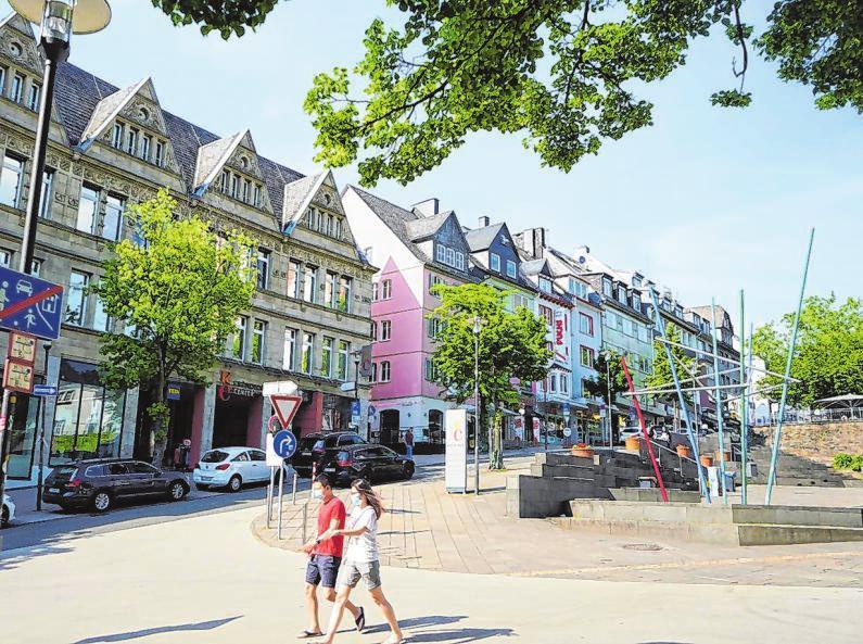 Man erhofft sich künftig noch eine weitere Belebung durch die Bestrebungen der Stadt, die Universität noch mehr in Siegens Mitte zu etablieren.