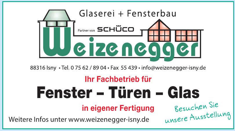 Glaserei und Fensterbau Weizenegger