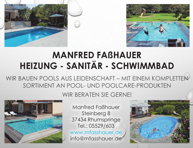 Manfred Faßhauer Heizung, Sanitär, Schwimmbad