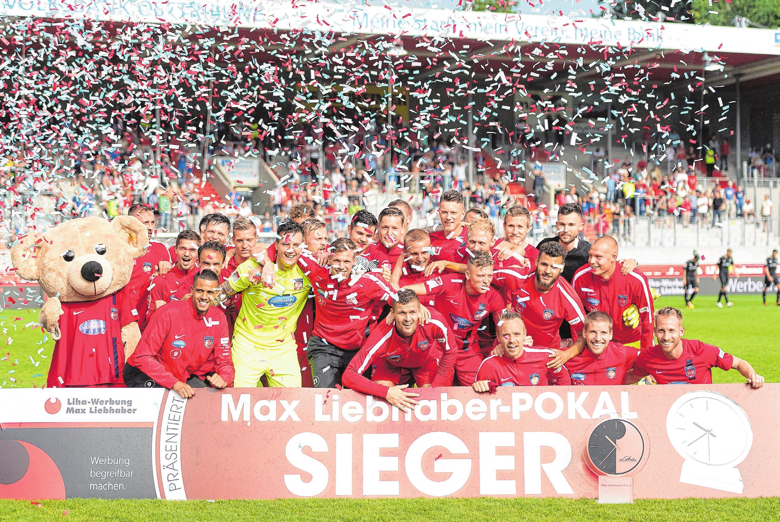 Letztmals gewann der 1. FC Heidenheim 1846 im Juli 2017 den traditionellen Max Liebhaber-Pokal anlässlich der Saisoneröffnung in der Voith-Arena, damals gegen den VfB Stuttgart. Im vergangenen Jahr unterlag der FCH nach Elfmeterschießen Hellas Verona.