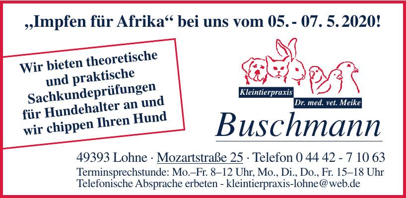 Kleintierpraxis Buschmann