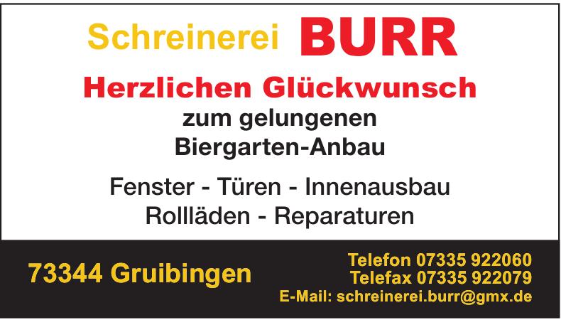 Schreinerei Burr