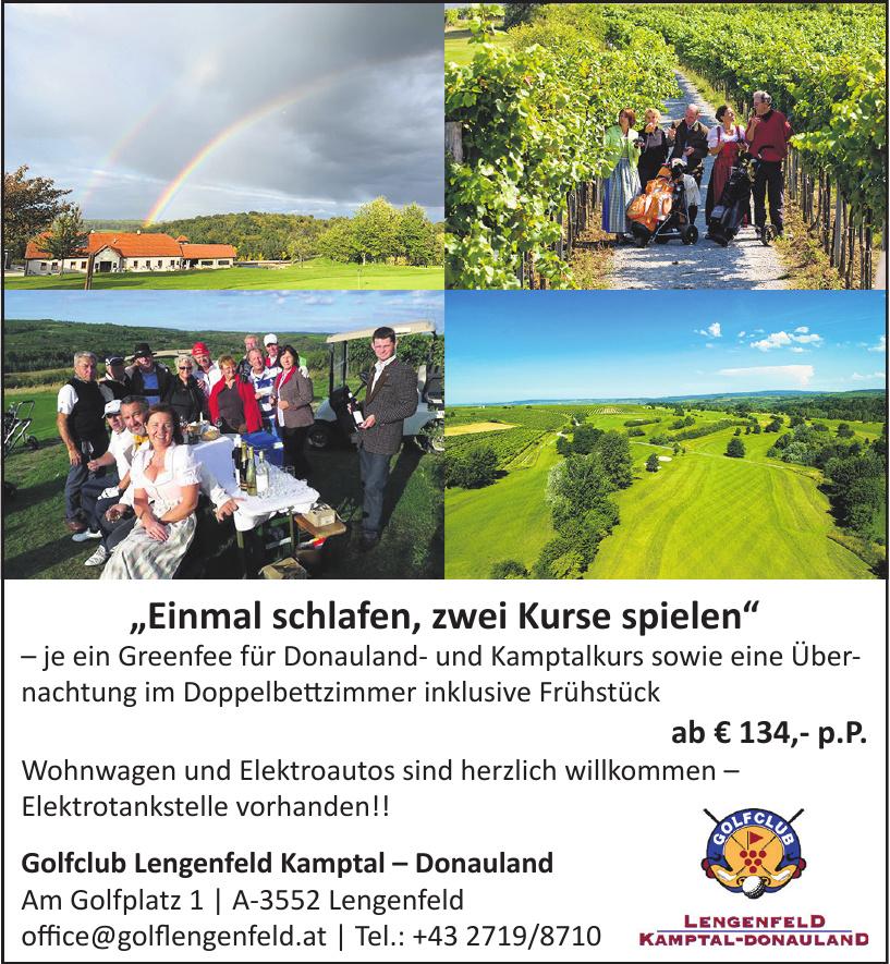 Golfclub Lengenfeld Kamptal – Donauland