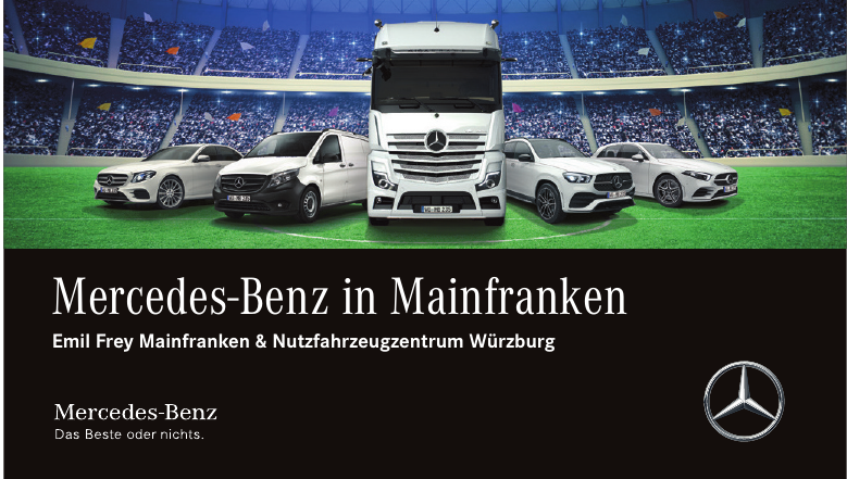 Mercedes-Benz in Mainfranken