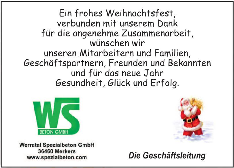 WerratalSpezialbeton GmbH