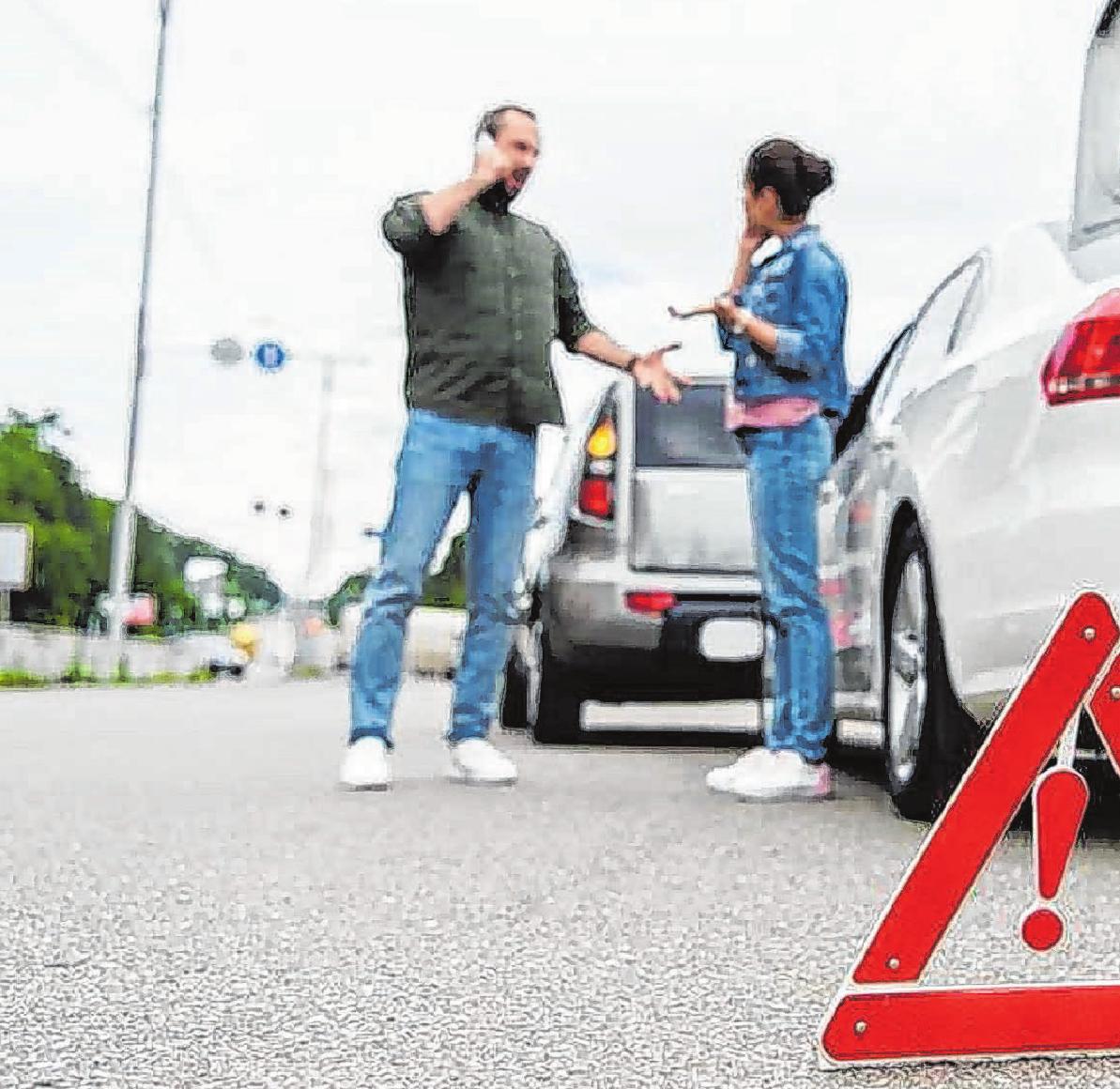 Wer auffährt, ist nicht immer grundsätzlich schuld am Unfall – den Vorausfahrenden kann unter Umständen ebenso eine Mitschuld treffen. Foto: djd/Auto1 GROUP/PantherMedia/VitalikRa