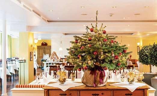 Das Ringhotel Birke sorgt für Genussmomente und Geschenkideen zum Fest.               FOTO: RINGHOTEL BIRKE - FISCHERS FRITZ