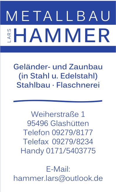 Metallbau Hammer