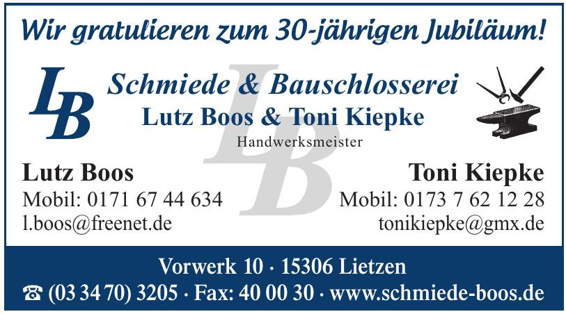 Schmiede & Bauschlosserei Lutz Boos & Toni Kiepke
