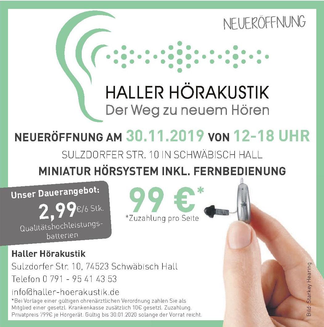 Haller Hörakustik