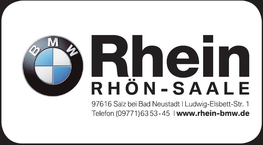 BMW Rhein Rhön-Saale