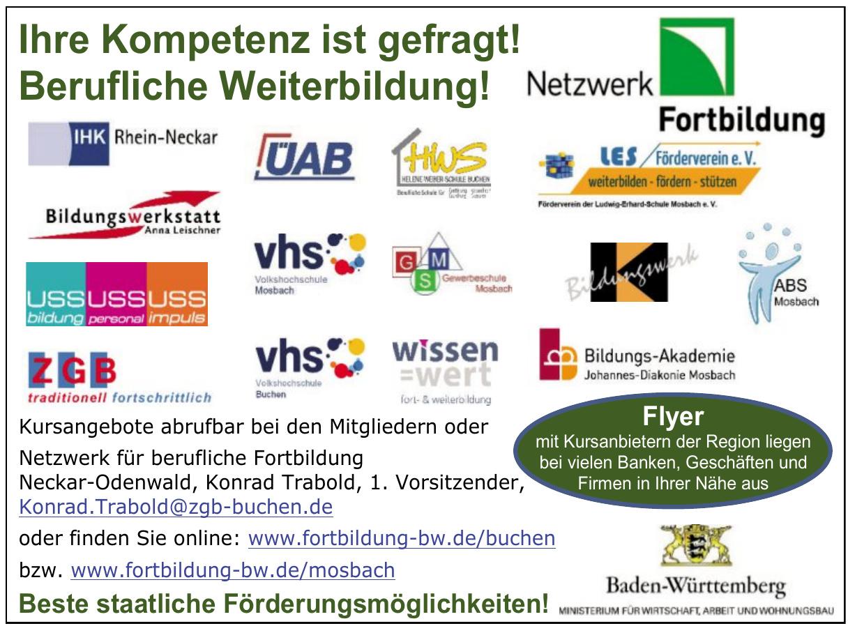 Netzwerk für berufliche Fortbildung