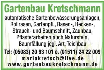 Gartenbau Kretschmann