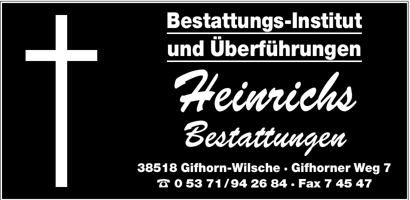 Heinrichs Bestattungen